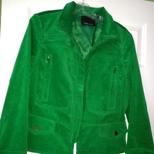 Carlisle Green Corduroy jacket - never worn